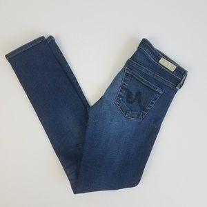 AG 27 the stilt cigarette leg skinny jean I21